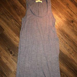 Thin slit dress